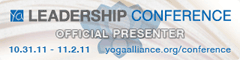 Yoga Alliance Conference Presenter
